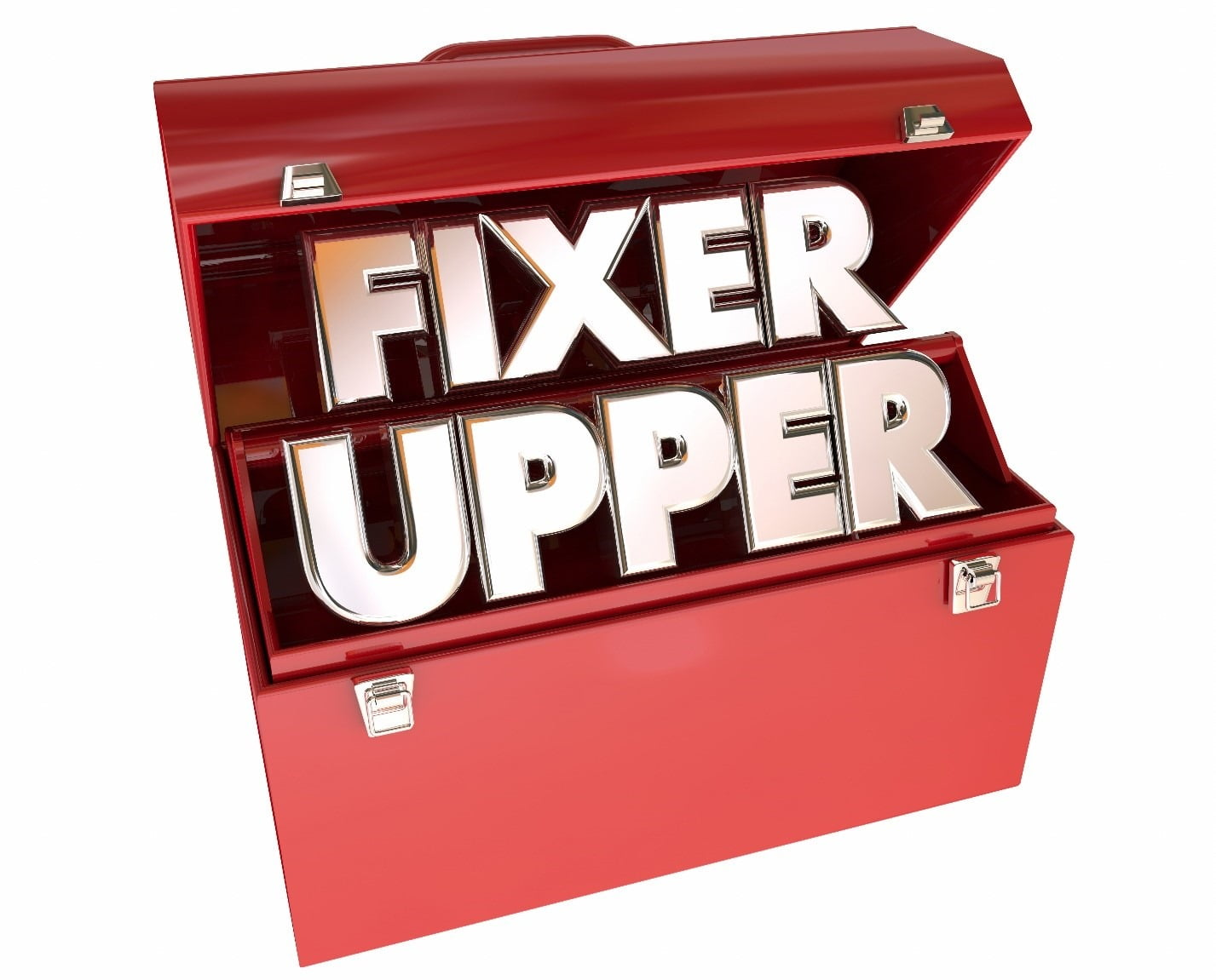 toolbox labeled fixer upper