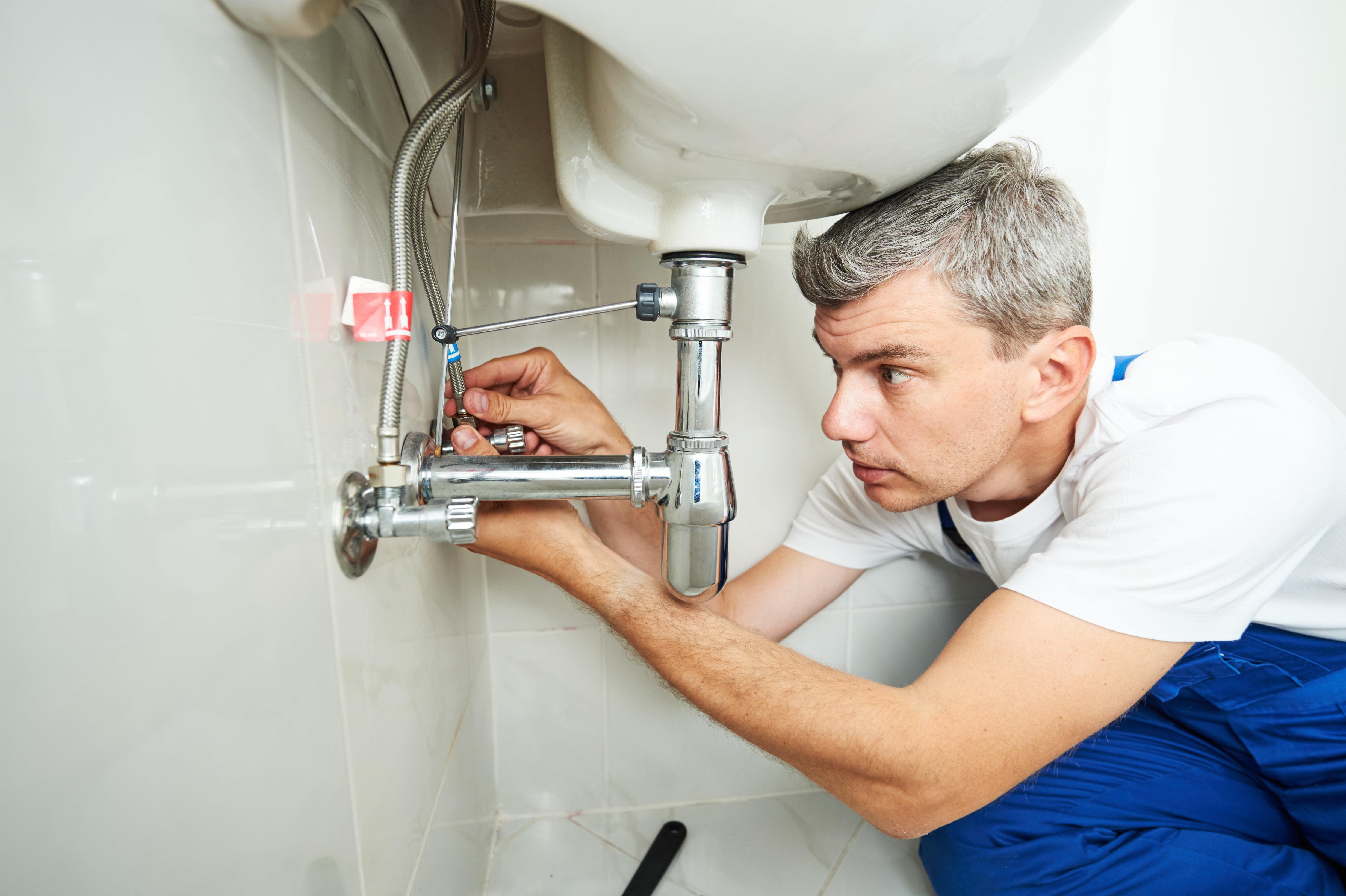plumber maintenance leaky faucet repair rental home